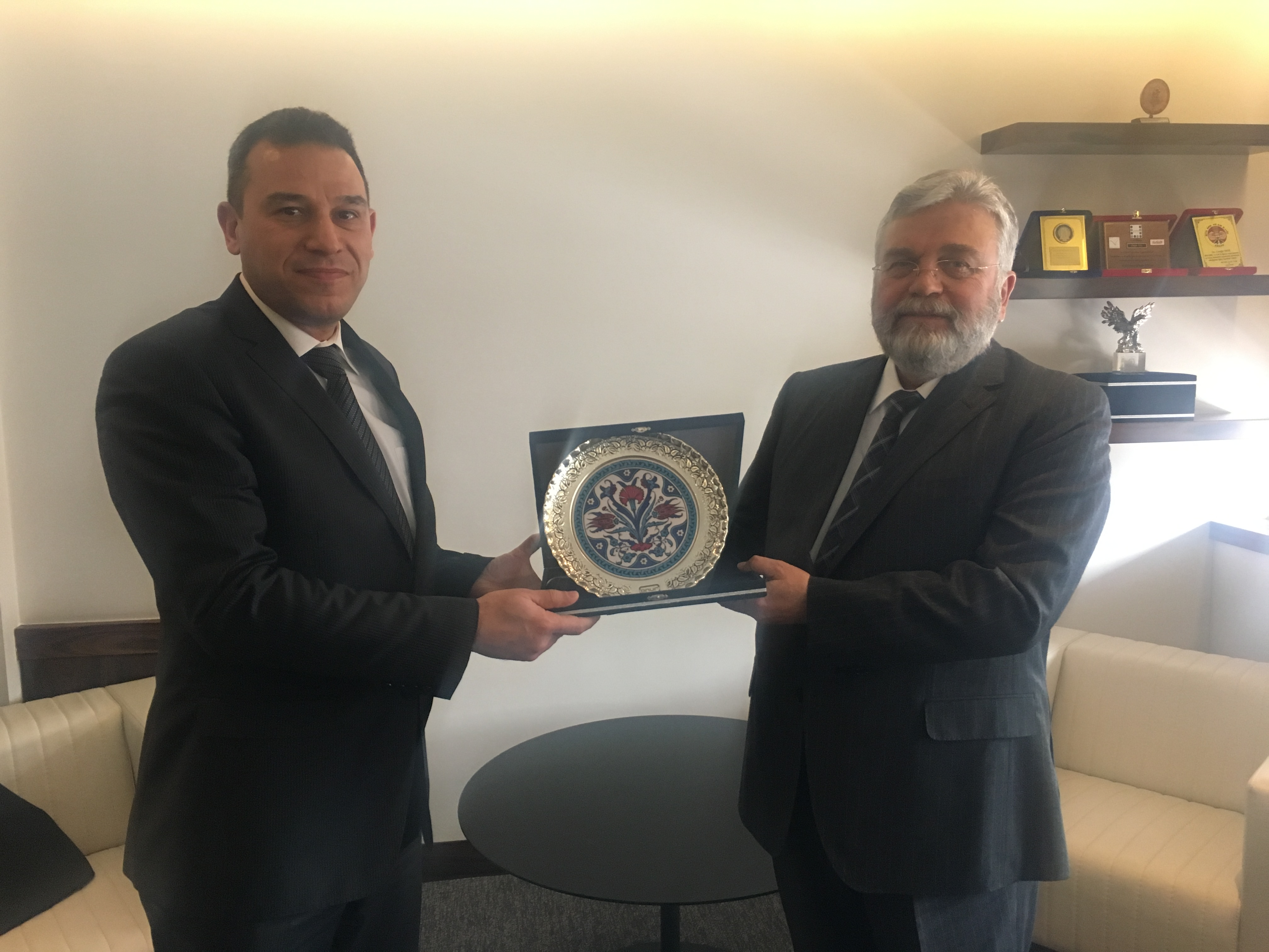 SSB Head of Communications, Electronic and Information Systems Mr. Yakup TAŞDELEN and Accompanying Delegation Visited ONUR.