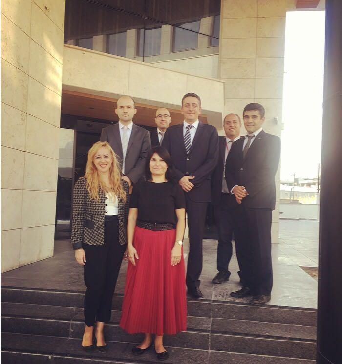 SSB Head of R&D Mrs. Şaduman AZİZ and Accompanying Delegation Visited ONUR...