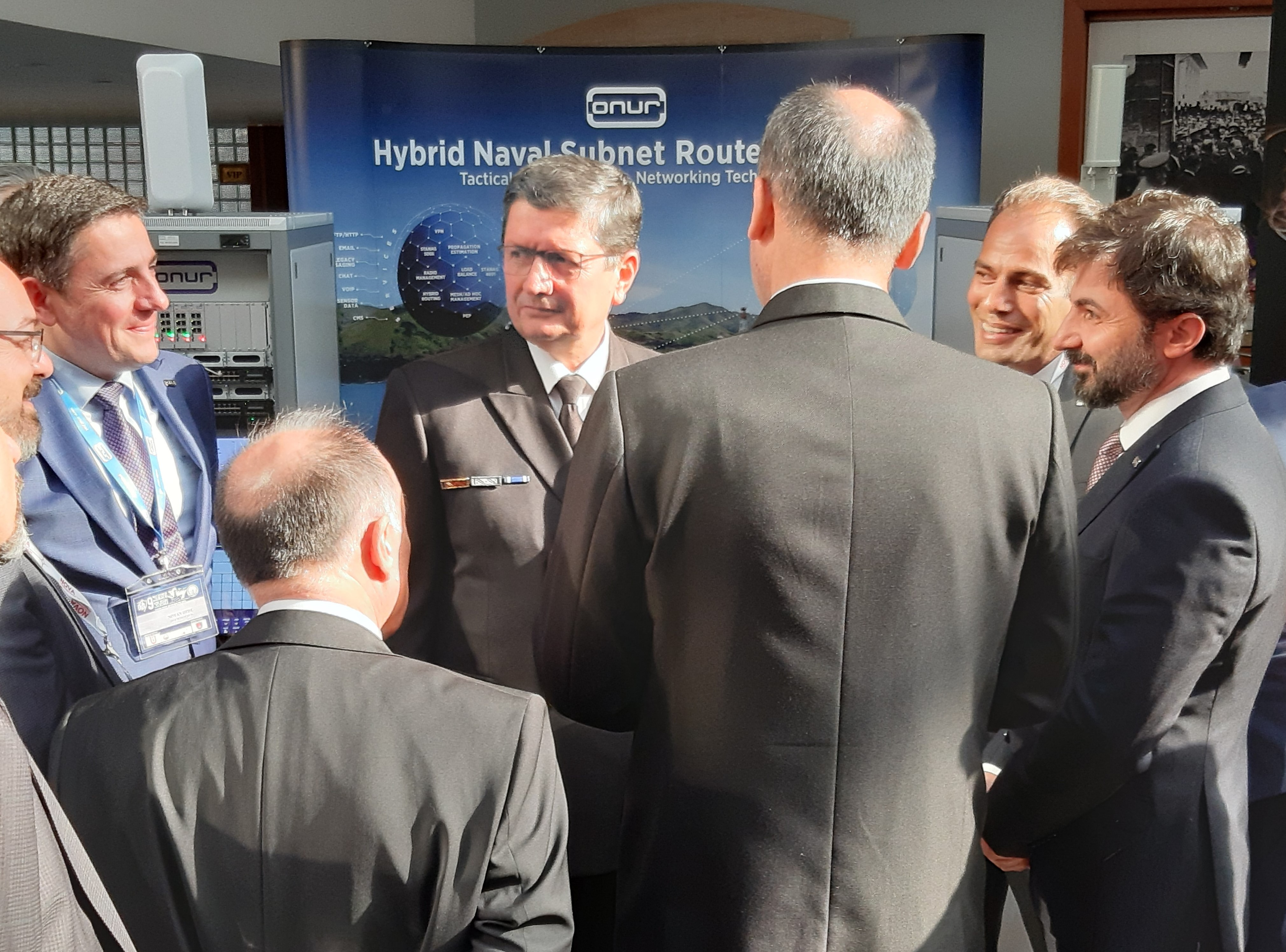 We have introduced our solutions at 9th Naval Systems Seminar.