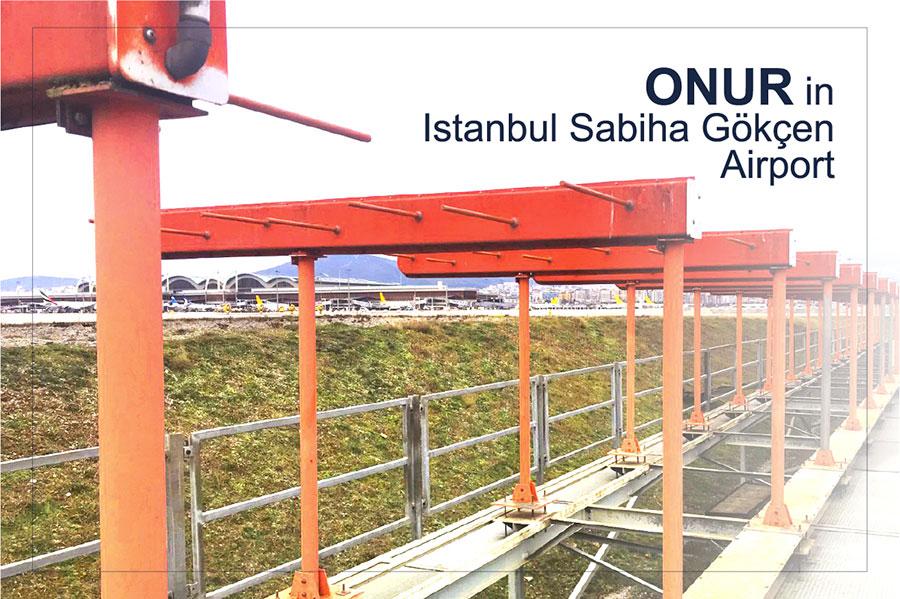ONUR in Istanbul Sabiha Gökçen Airport