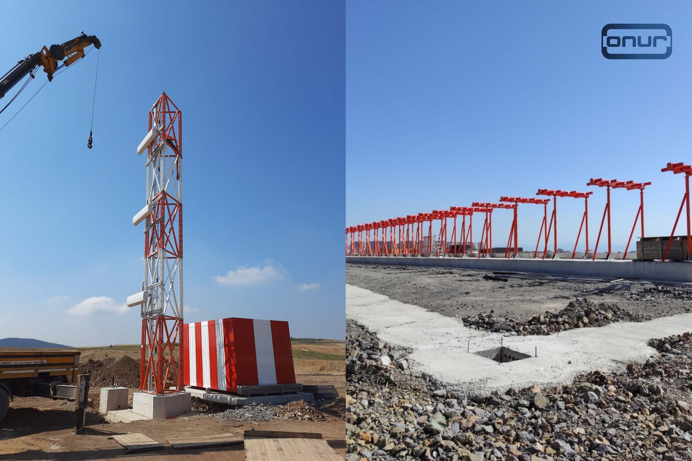 ONUR continues to run on-site integration work of ILS/DME systems at İstanbul Sabiha Gökçen International Airport.