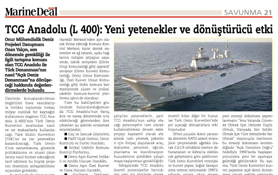 The Article Published by Marine Deal...